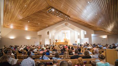 grace baptist church inside
