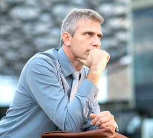 man-pondering