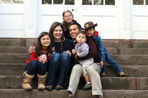 pastor John miller with family